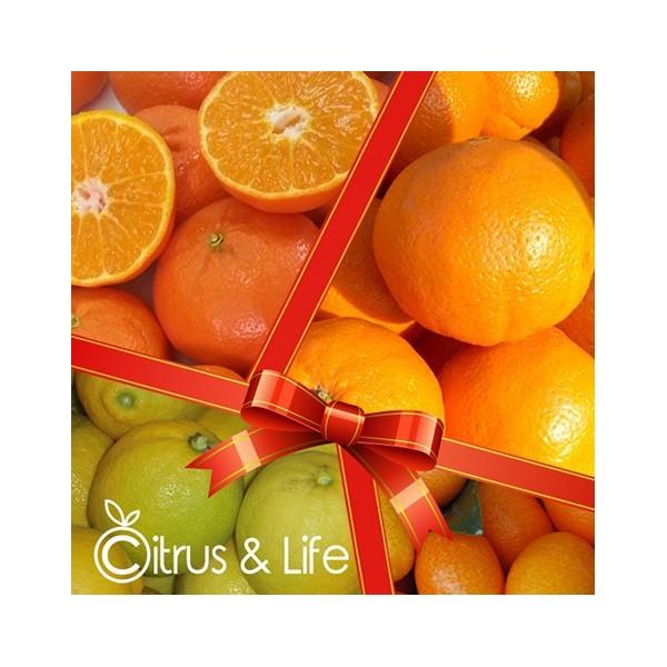 Pack naranjas, mandarinas, limones y exóticos